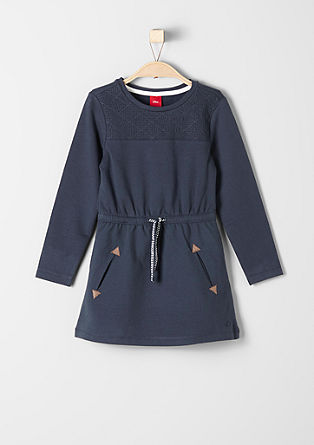 Sweatshirt dress with pockets from s.Oliver