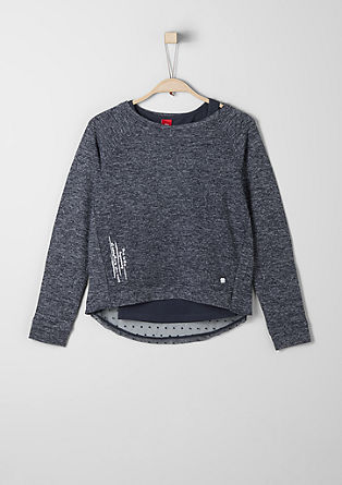 Sweatshirt in a 2-in-1 look from s.Oliver