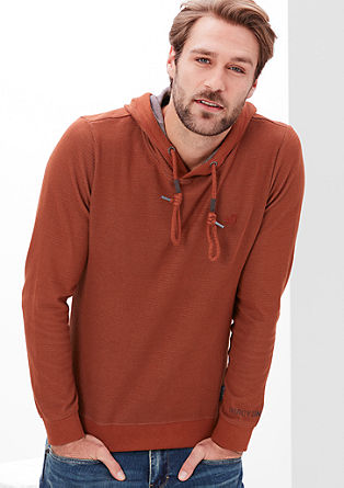 Sweatshirt in a coloured finish from s.Oliver