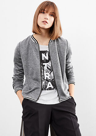 Sweatshirt in an athleisure look from s.Oliver