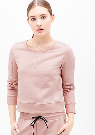 Sweatshirt in Boxy-Shape