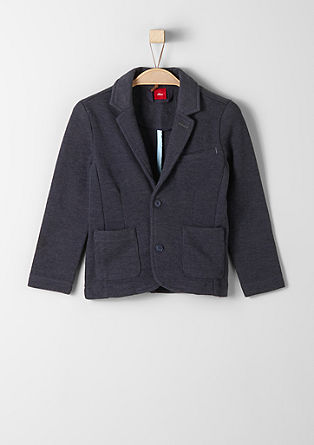 Sweatshirt jacket in a tailored style from s.Oliver