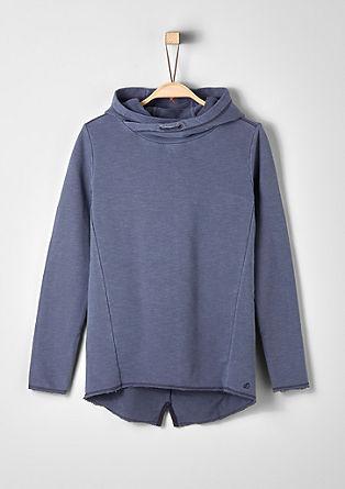 sweatshirt met een used look