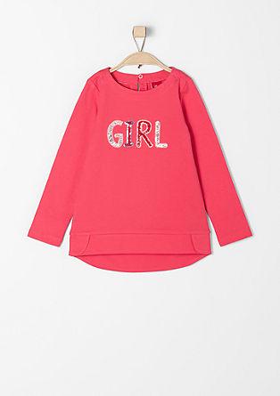 Sweatshirt met pailletjes