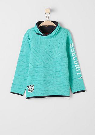 Sweatshirt met police-patch