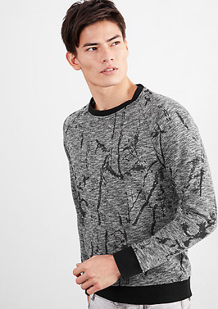 Sweatshirt mit Artwork-Print