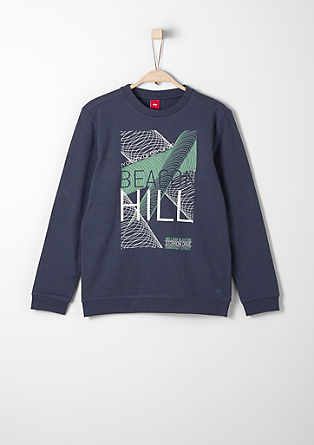 Sweatshirt mit Digitalprint