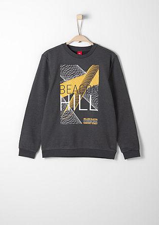 Sweatshirt mit Digitalprint