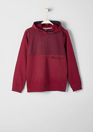 Sweatshirt mit Kapuze