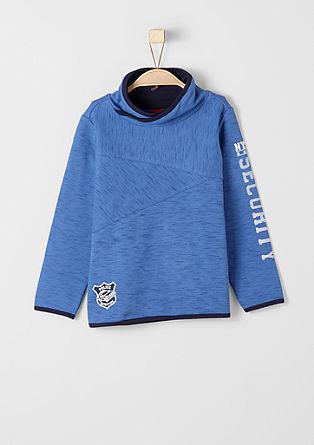 Sweatshirt mit Police-Patch