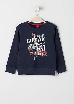Sweatshirt mit rockigem Print