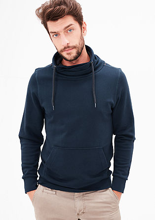 Sweatshirt mit Turtleneck