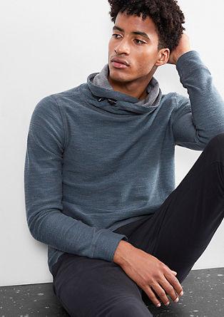 Sweatshirt mit Turtleneck