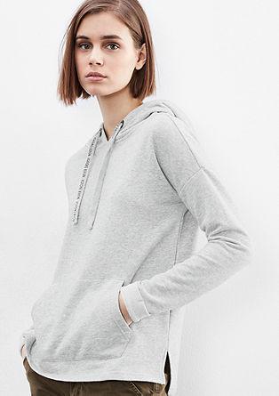 Sweatshirt mit Wordings