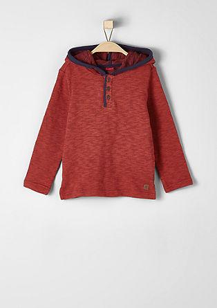 Sweatshirt pulover iz fine pletenine