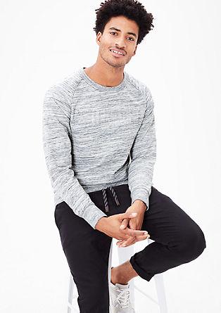 Sweatshirt pulover s 3D-tiskom