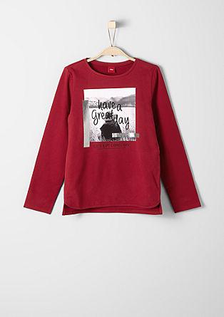 Sweatshirt pulover s fotografskim potiskom