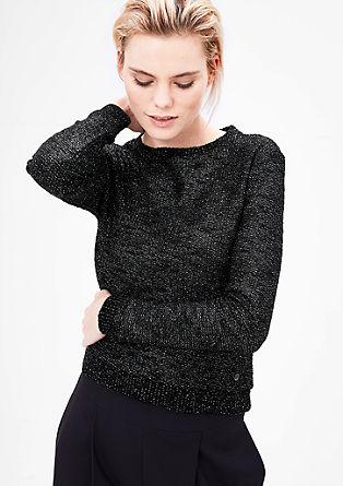 Sweatshirt pulover s svetlečim učinkom