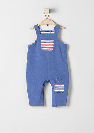 Sweatshirt romper with stripe details from s.Oliver
