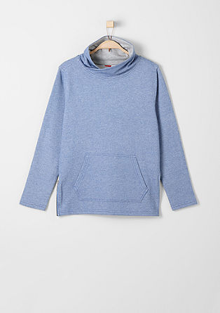 Sweatshirt with a back print from s.Oliver