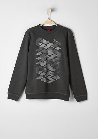 Sweatshirt with a graphic print from s.Oliver
