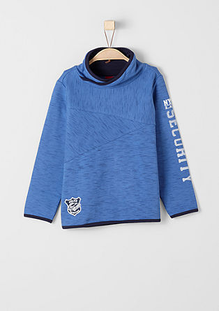 Sweatshirt with a police badge from s.Oliver