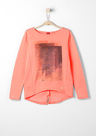 Sweatshirt with a print from s.Oliver