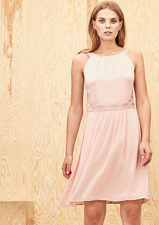 Swirling chiffon dress from s.Oliver