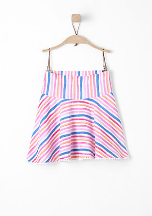 Swirling jersey skirt from s.Oliver