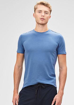 T-Shirt aus Baumwollstretch