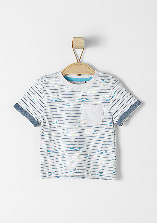 T-shirt in a nautical design from s.Oliver