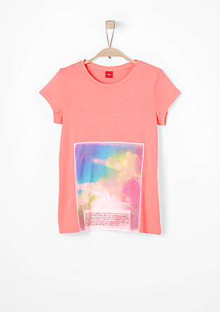 T-shirt met applicatie