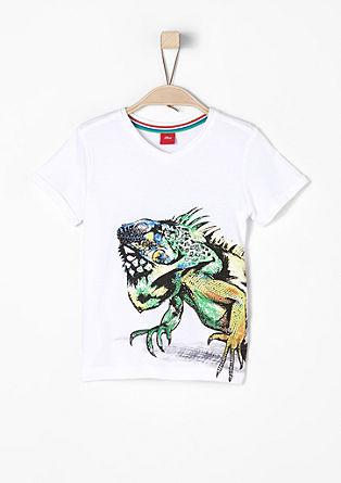 T-shirt met driedimensionale print