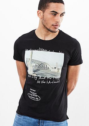 T-shirt met een urban print