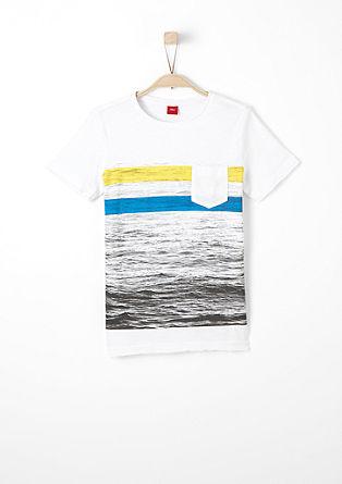 T-shirt met fotoprint