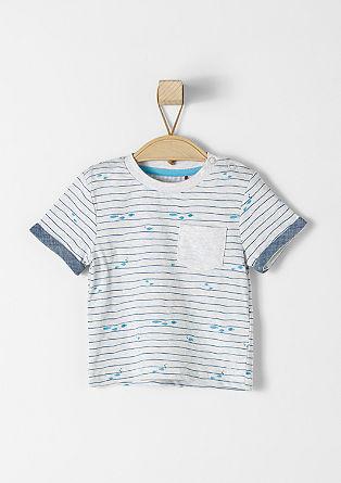 T-shirt met maritiem design