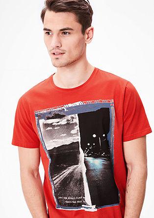 T-shirt met print op de voorkant