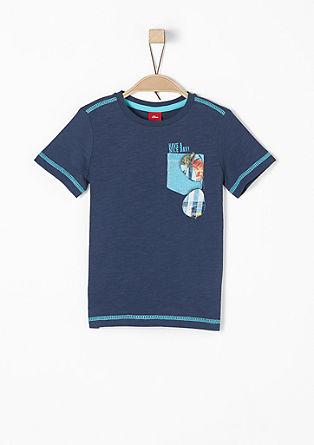 T-shirt met zomerse print