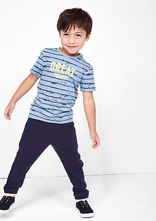 T-Shirt mit Allover-Print und Neon