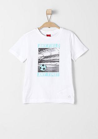 T-Shirt mit Fußball-Motiv