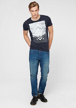T-Shirt mit Grafik-Frontprint