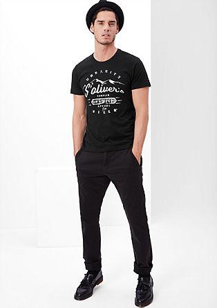 T-Shirt mit Hiker-Print
