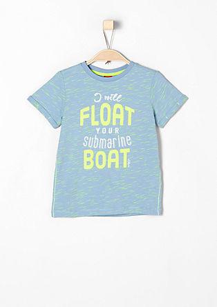 T-Shirt mit Neon-Effekten