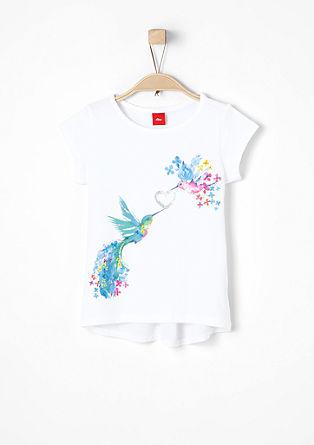 T-Shirt mit Paradiesvögeln