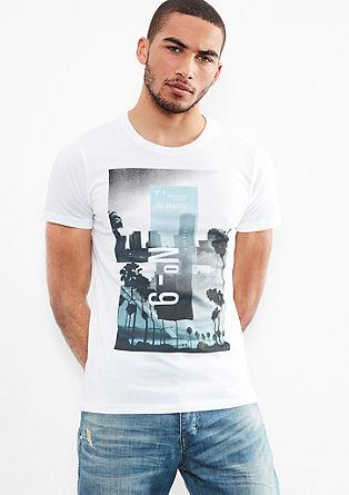 T-Shirt mit plakativem Print