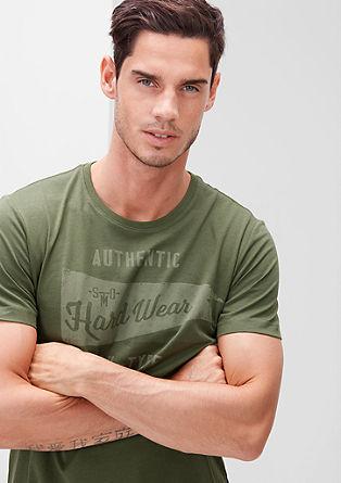 T-Shirt mit Retro-Print