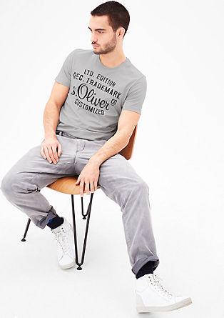 T-Shirt mit s.Oliver Signature-Print
