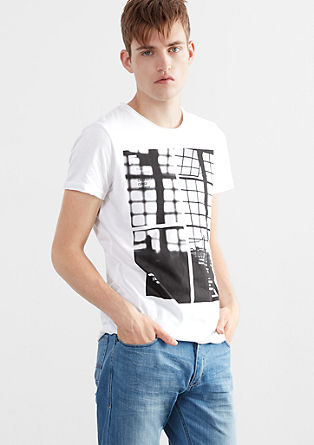 T-Shirt mit Technik-Print