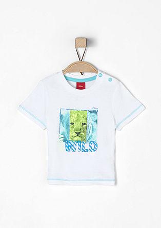 T-Shirt mit Tierprint