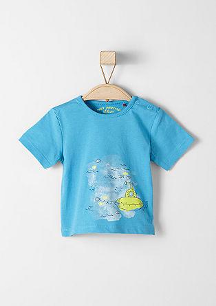 T-Shirt mit Unterwasser-Print